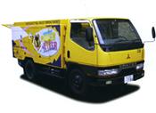 温水高圧防音型洗浄車