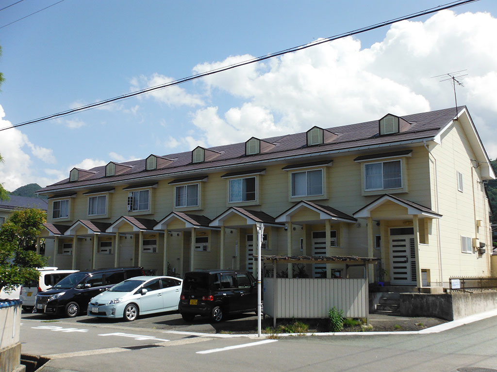山形市集合住宅塗装工事