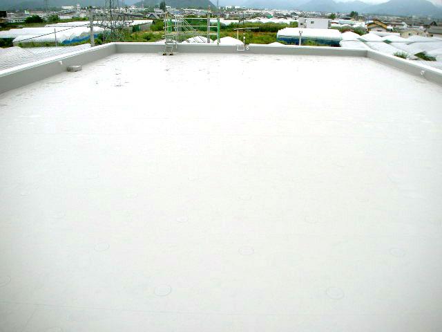 屋上防水改修工事 塩ビシート