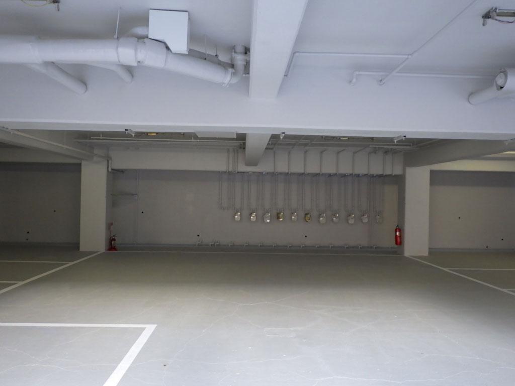 仙台市地下駐車場改装工事