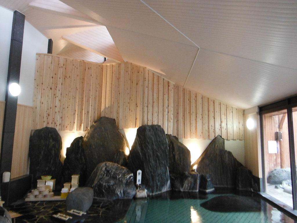 山形県某温泉浴室リニューアル工事